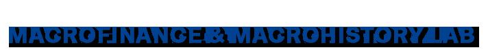 MACROFINANCE & MACROHISTORY LAB BONN